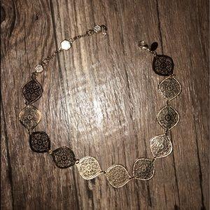 Express Jewelry - Gold choker